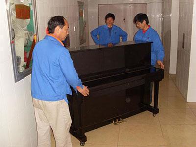 钢琴搬运展示